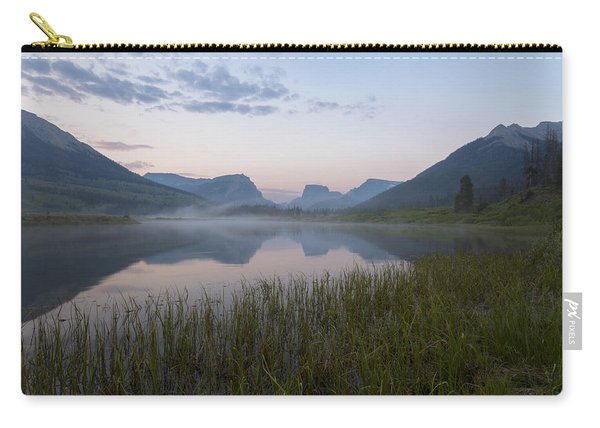 Carry-all Pouch featuring the photograph Wind River Morning by Dustin  LeFevre