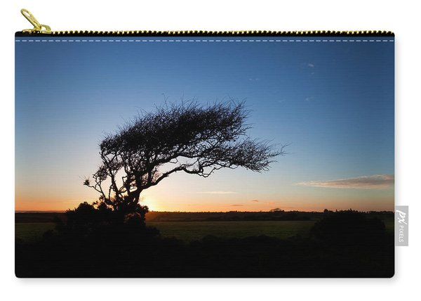 Wind Sculptured Hawthorn Tree, The Carry-all Pouch