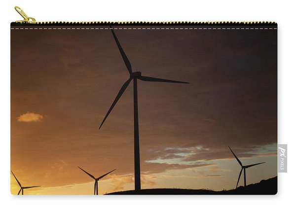 Wind Turbines In Paterna De Rivera Carry-all Pouch