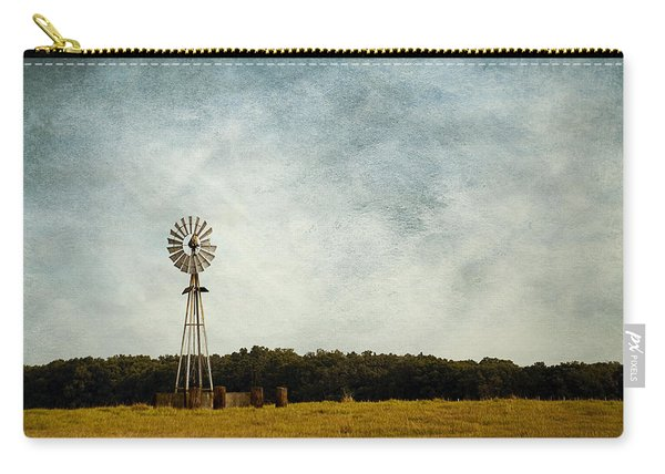 Windmill On The Farm Carry-all Pouch