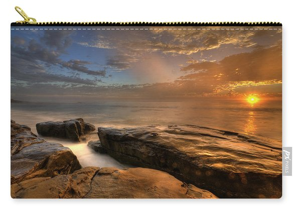 Windnsea Gold Carry-all Pouch
