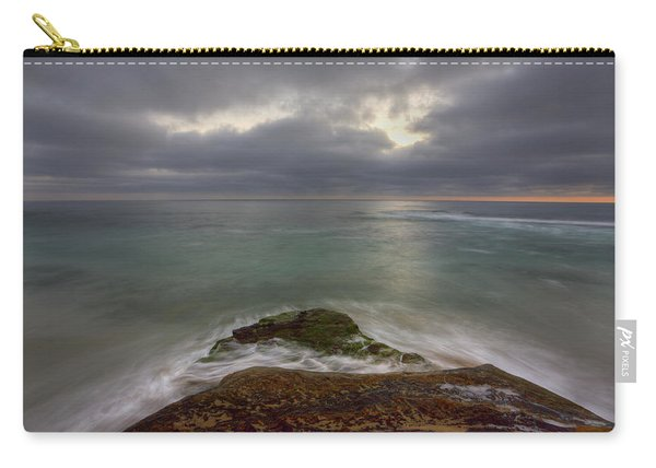 Windnsea Point Sunset Carry-all Pouch