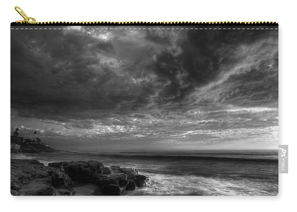 Windnsea Stormy Sky Bw Carry-all Pouch