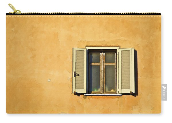 Window Of Rome Carry-all Pouch
