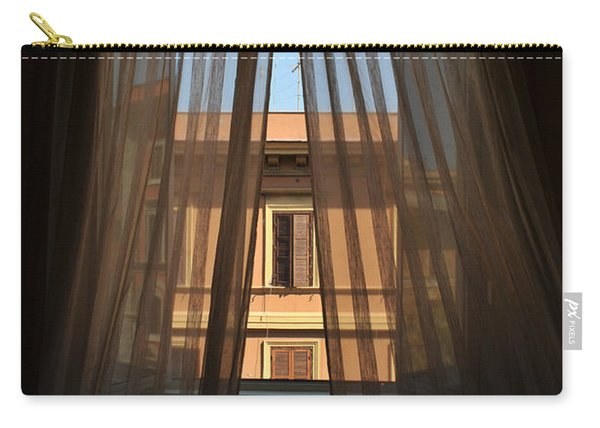 Window On Rome Carry-all Pouch