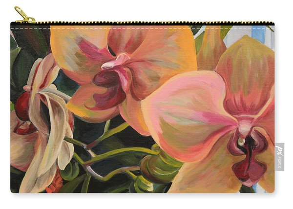 Windowsill Orchids Carry-all Pouch