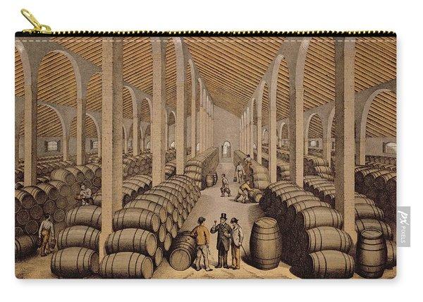 Wine Cellar At Jerez De La Frontera  Carry-all Pouch