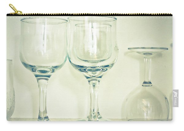 Wine Glasses Carry-all Pouch