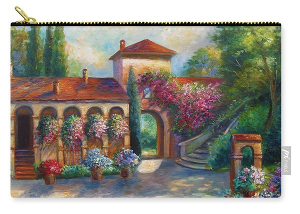 Winery In Tuscany Carry-all Pouch