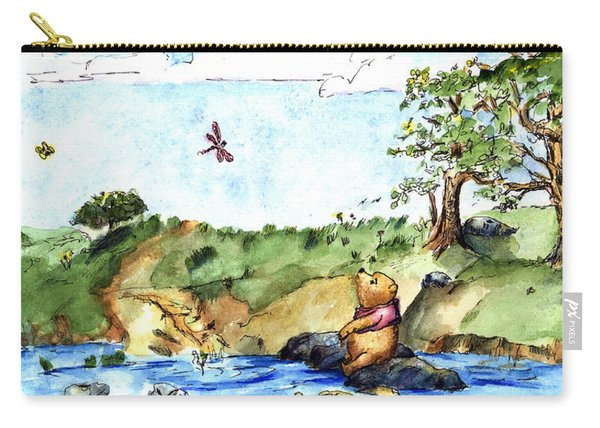 Imagining The Hunny  After E  H Shepard Carry-all Pouch