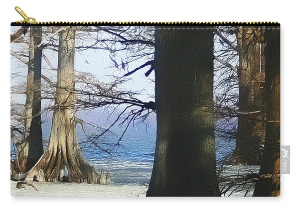 Winter At Reelfoot Lake Carry-all Pouch