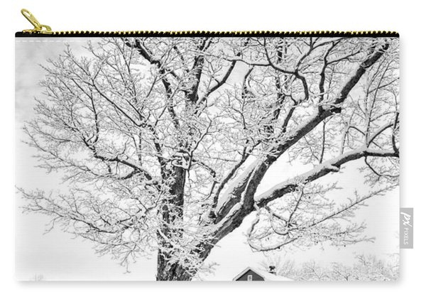 Winter Comes To The Upper Valley Carry-all Pouch