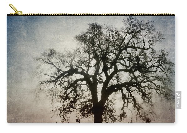 Winter Dawn Tree Silhouette Carry-all Pouch