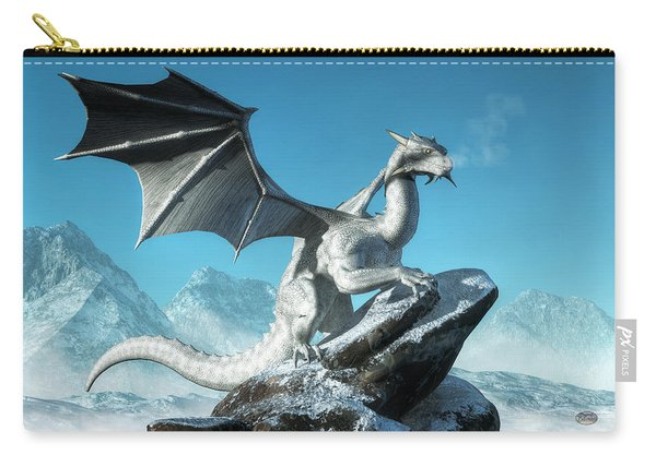 Winter Dragon Carry-all Pouch