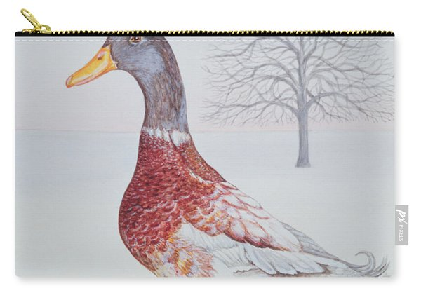 Winter Drake Carry-all Pouch