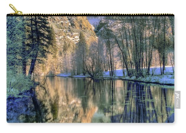 Winter Falls Carry-all Pouch