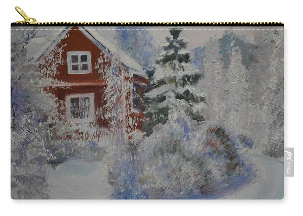 Winter In Finland Carry-all Pouch