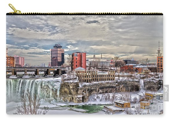 Winter In Rochester Carry-all Pouch