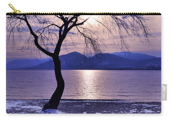 Winter Light At Manitou Beach Carry-all Pouch