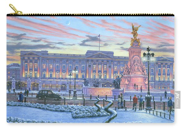 Winter Lights Buckingham Palace Carry-all Pouch