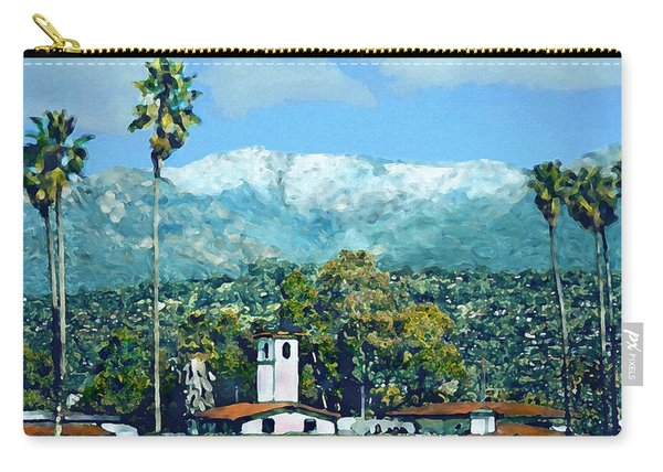 Winter Paradise Santa Barbara Carry-all Pouch