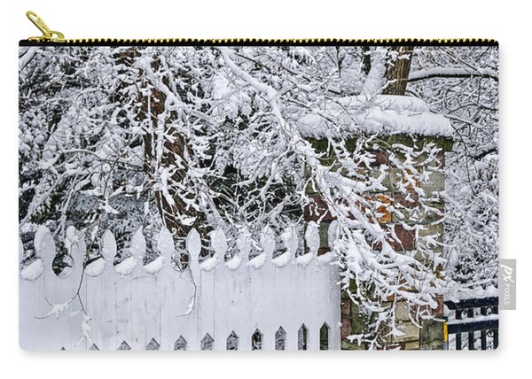 Winter Park Fence Carry-all Pouch