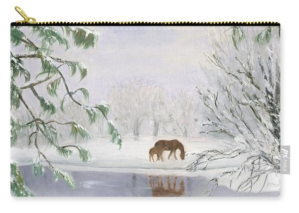 Winter Pasture Carry-all Pouch