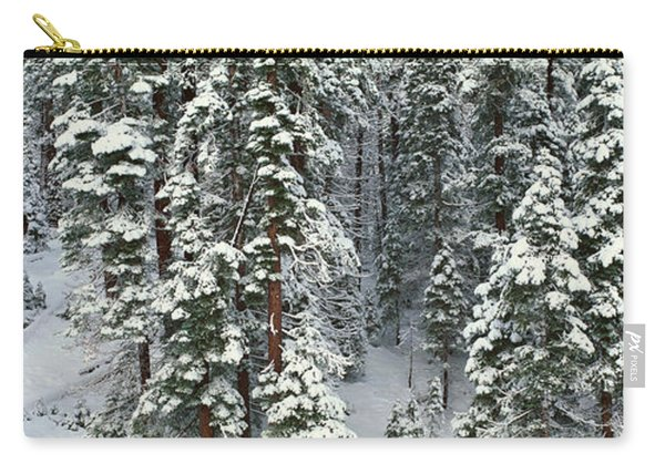 Winter Snowstorm In The Lake Tahoe Carry-all Pouch