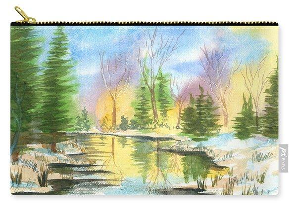 Winter Stillness Carry-all Pouch