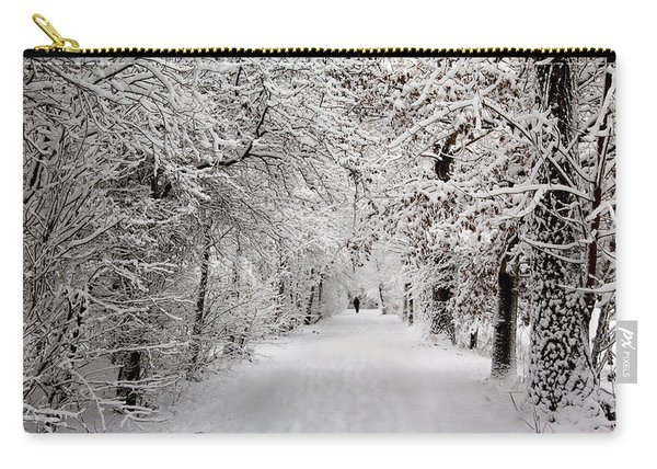 Winter Walk In Fairytale  Carry-all Pouch