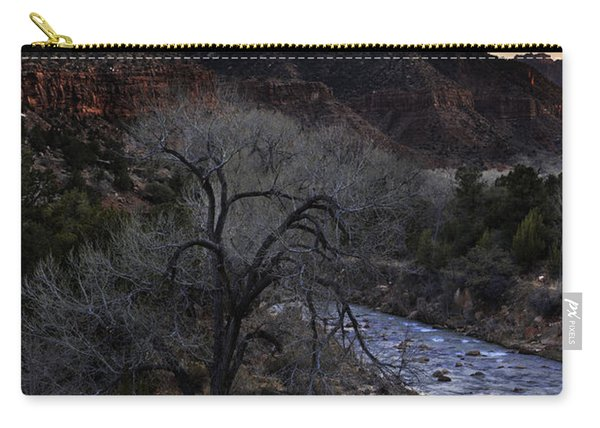 Winter Watchman Carry-all Pouch
