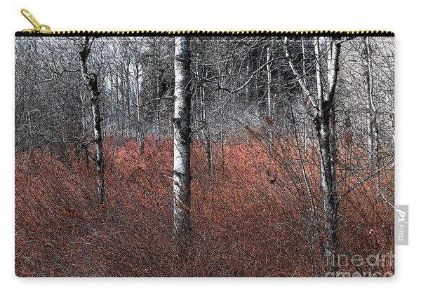 Winter Wetland I Carry-all Pouch