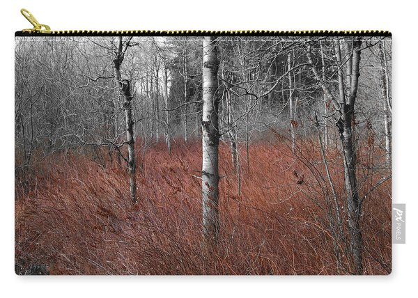 Winter Wetland Carry-all Pouch