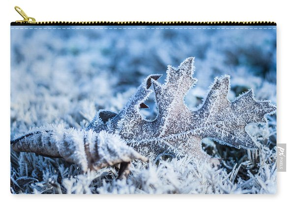 Winter's Icy Grip Carry-all Pouch