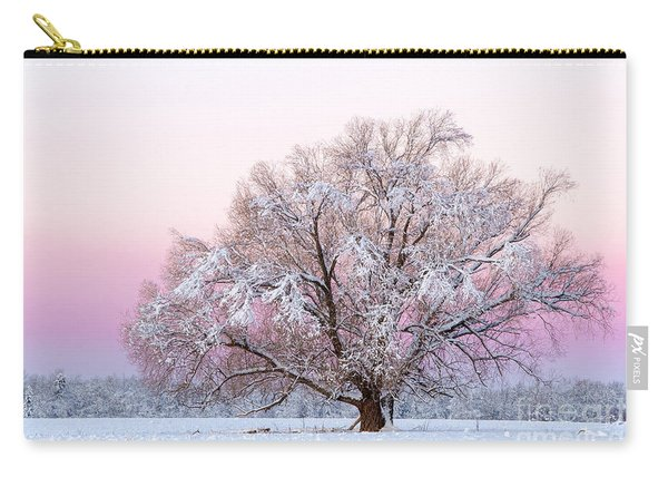 Winter's Majesty Morning Carry-all Pouch