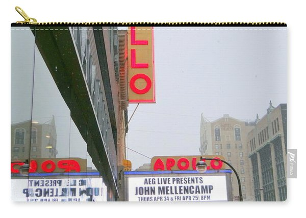 Wintry Day At The Apollo Carry-all Pouch