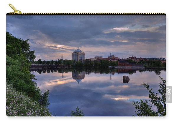Wisconsin River Reflection Carry-all Pouch