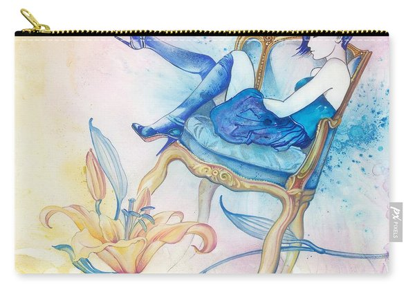 With Head In The Clouds Carry-all Pouch