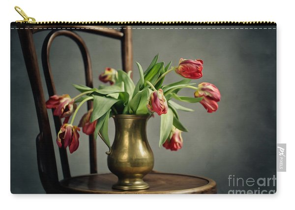 Withered Tulips Carry-all Pouch