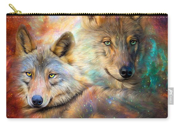 Wolf - Spirit Of The Universe Carry-all Pouch