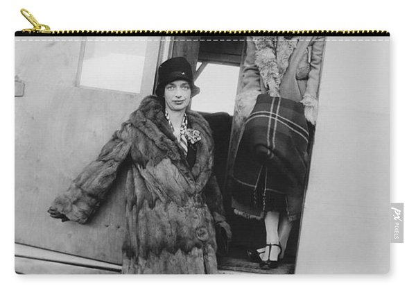 Women Airline Passengers Carry-all Pouch