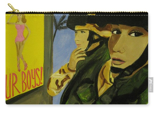 Women Warriors And The Pinup Carry-all Pouch