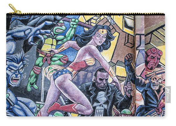 Wonder Woman Abstract Carry-all Pouch
