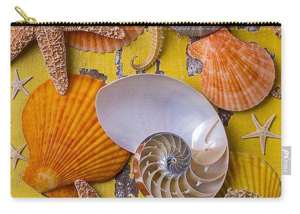 Wonderful Sea Life Carry-all Pouch