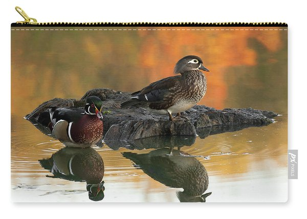 Wood Ducks Carry-all Pouch