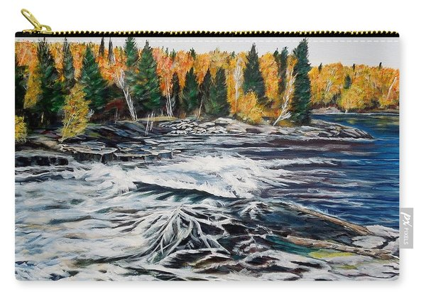 Wood Falls 2 Carry-all Pouch