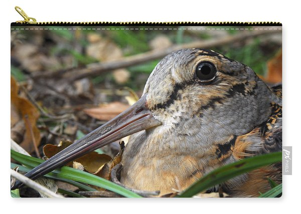 Woodcock Beak Close Up Carry-all Pouch