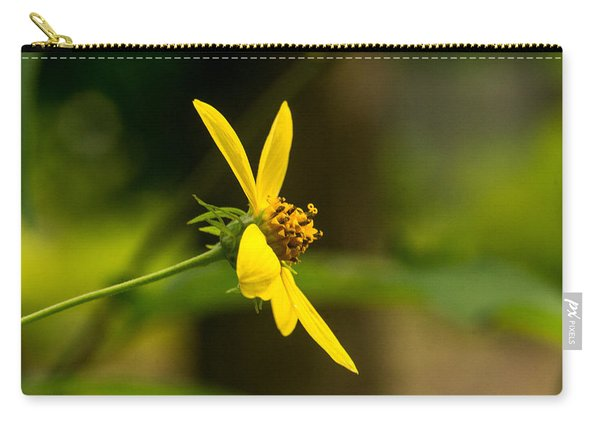 Woodland Flower With Curlicue On Top 2 Carry-all Pouch