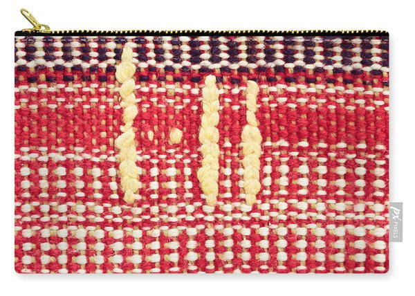 Wool Carpet Carry-all Pouch