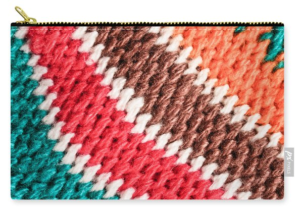 Wool Knitwear Carry-all Pouch